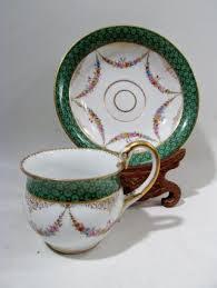 Decorative Cups And Saucers Decorative Arts Ceramics Porcelain Cups Saucers Antiques 81