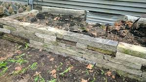 retaining wall makeover diy wood plans