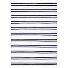 navy striped rug 6 blue wool79