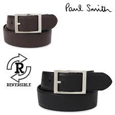 paul smith paul smith belt leather belt men genuine leather reversible leather belt black brown black