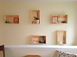 diy wall shelves easy diy wall mounted shelves