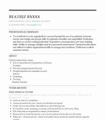 Medical Chart Abstraction Resume Example Altegra Health