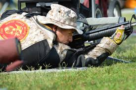 u s department of defense photo essay marine corps staff sgt edgar leon eyes his target during the 2014 interservice rifle competition