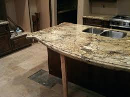 granite countertop overhang support implausible plywood interior design 9