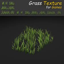 grass texture game. Grass Patch Textures For Games 3d Model Low-poly Max Obj Fbx Mtl Tga 5 Texture Game X