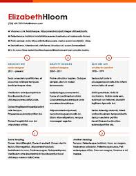 One Page Resume Template Cool Modern Resume Templates [60 Examples Free Download]