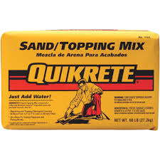 Quikrete Sand Topping Mix Coverage Chart Quikrete Sand Topping Mix 110360 Do It Best