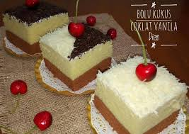 Bolu Kukus Coklat Vanilla Recipe Foods Pinterest Vanilla