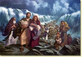 Image result for google images- crossing of Red Sea- public domain