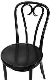 bentwood chair candy cane style black finish black bentwood chairs