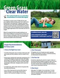 Lawn Care Brochure Lawn Care Information Sheet And Brochure