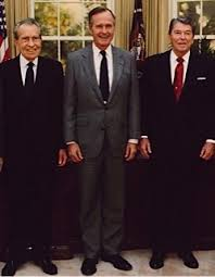 filethe reagan library oval office. Presidents Richard Nixon, George H.W. Bush And Ronald Reagan Photographed Together In The Oval Office 1991. (Cropped From A White House Photo That Also Filethe Library