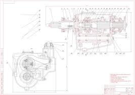 Курсовые коробок передач чертежи для автомобилей ВАЗ ЗИЛ МАЗ  Курсовая работа Разработка технологического процесса сборки коробки переменных передач автомобиля УАЗ 469
