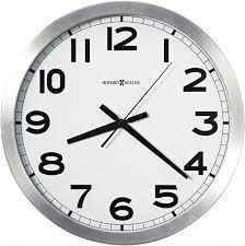 14 diam white face dial wall clock