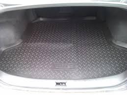 <b>Коврик багажника</b> Nissan Teana 2008- (<b>полиуретан</b>, <b>черный</b>, с ...