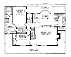 Carney Place Cape Cod Farmhouse Plan D    House Plans and MoreTraditional House Plan First Floor   D    House Plans and More