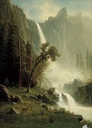 Bridal Veil Falls Yosemite Albert Bierstadt