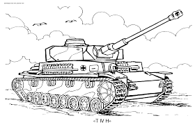 Small Picture Tank Coloring Page Coloring Home