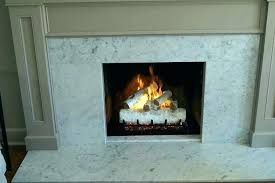 birch fireplace logs gas ideas electric tree