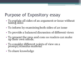 expository essay writing ppt purpose of expository essay