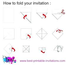 Origami Cootie Catcher Chatterbox Instructions Template Invitation ...