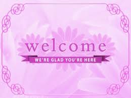 pink welcome pink floral welcome media4worship worshiphouse media