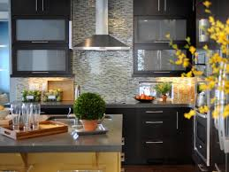 Elegant Kitchen Designs decorating modern kitchen design with black kitchen cabinets and 3713 by xevi.us
