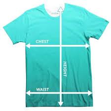 3xl Shirt Size Chart Size Guide Shelfies