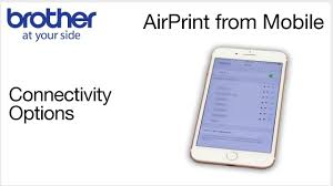 How Do I Print From My Ipad Airprint Mobile Printing On Your Brother Printer Youtube