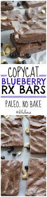 copycat blueberry rx bars paleo snack bars no bake snack bars meatless monday