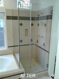 shower door cleaning brads window residential north doors glass with lemon juice