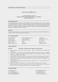 15 Easy Ways To Facilitate Profile On Resume For Customer