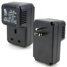 in the instances where the voltage in the country you are travelling to is lower you need a step up converter and when the voltage is higher you need a
