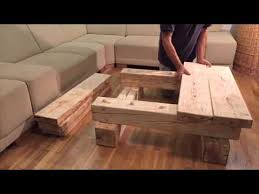 Solid Wood Coffee Table   Home SimanArt