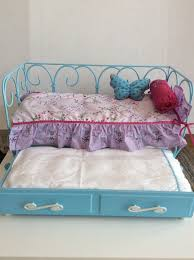 american girl doll curlicue day bed with trundle bed retired 1 of 12 see more