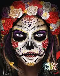 Sugar Skull In 2019 Los Muertos как рисовать тату девушки
