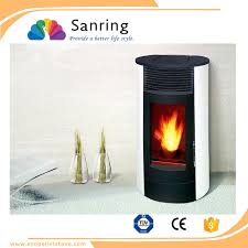 environmental and economical pellet stove cast iron fireplace door