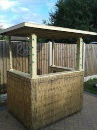 Diy outdoor bar Budget Pallet Furniture Diypalletoutdoorbar