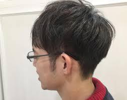 メンズショート サイドを刈り上げて後ろは繋げるようにカット 髪