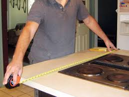 to determine the size of your countertop measure the base cabinets or your existing countertop