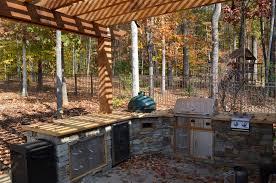 green egg built in outdoor kitchen ideas bistrodre porch