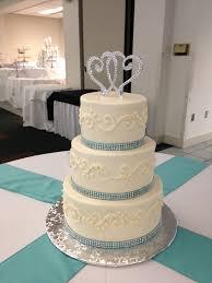 simple blue wedding cake. Simple Wedding Wedding Cake Ribbon Simple Buttercream Wedding With Tiffany Blue  Rhinestone With Simple Blue Cake C