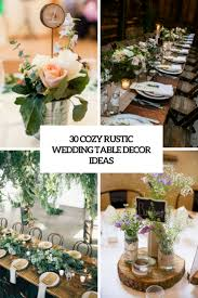 30 Cozy Rustic Wedding Table D Cor Ideas Weddingomania