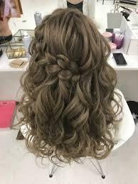 ヘアセットサロン 栄 錦 グランディール على تويتر 前髪から編み込みを