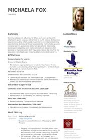 Resume Template Google Docs Personal Assistant Resume Samples