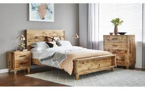 cronulla timber bed frame suite options