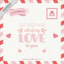 Love Letter Free Download Vintage Love Letter Background Vector Free Download