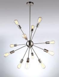 mini sputnik chandelier lamp lights pendant light listed silver modern satellite style sputnik chandelier nickel finish diy mini sputnik chandelier kit