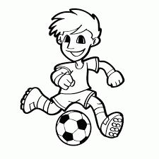Leuk Voor Kids Sport Voetbal Kleurplaten 100 Kleurplaat