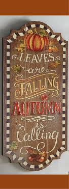 Fall decor, Leaves are falling, Autumn Is calling wall decor, Autumn wall  art